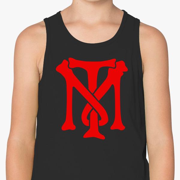 Scarface Tony Montana Bone Logo Kids Tank Top Customon