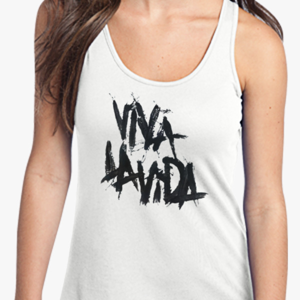 Printed Racerback Top - Shelby Dreaming by VIDA VIDA