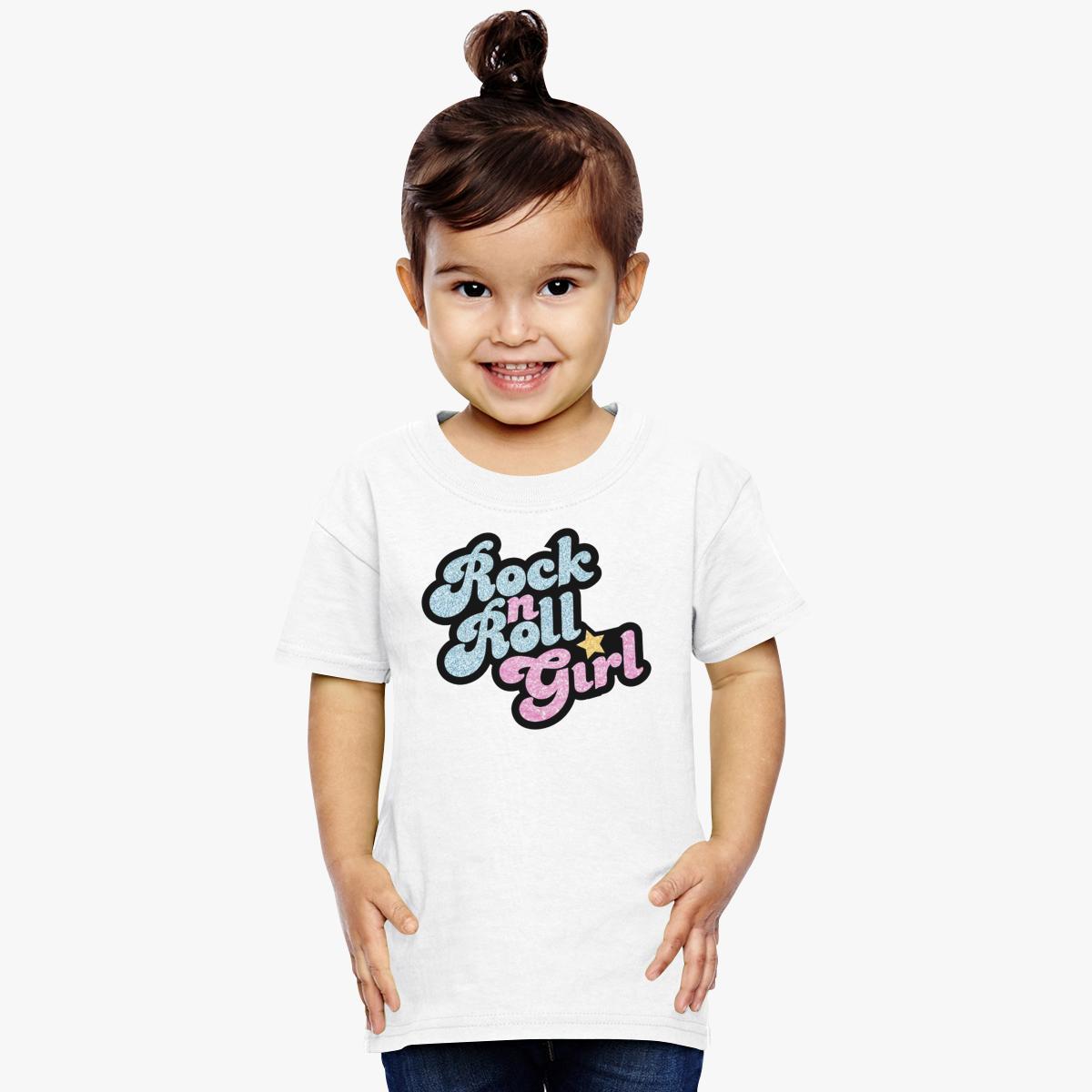Rock n' Roll Girl Toddler T-shirt