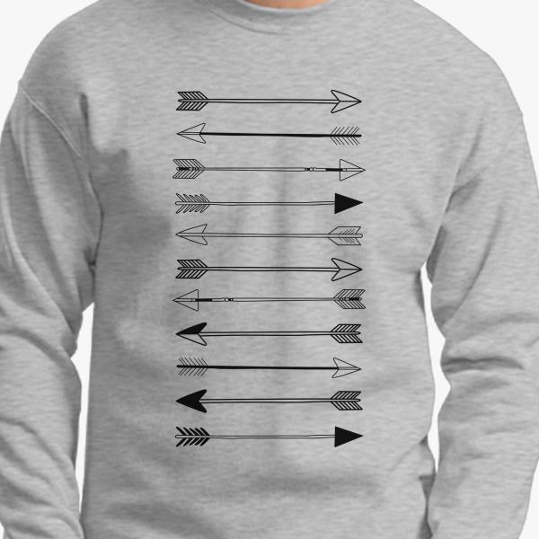Buy Indian Arrows Crewneck Sweatshirt, 19734