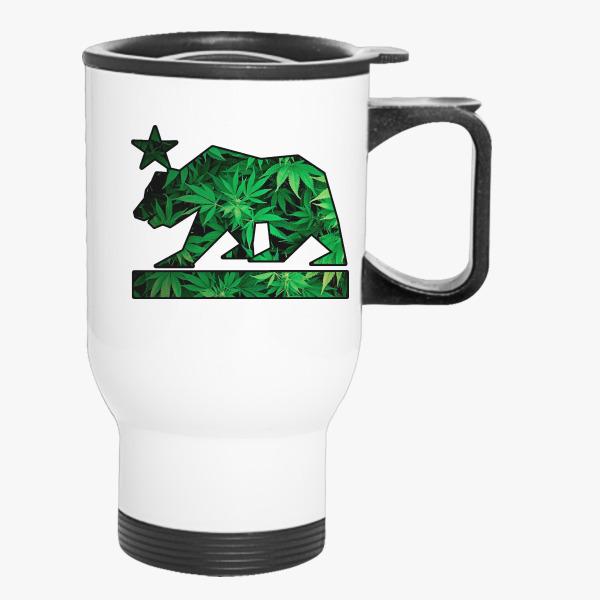 Buy Cali Weed Travel Mug, 203563