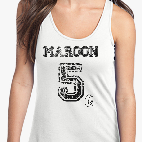 Buy Maroon 5 Women's Racerback Tank Top, 20468