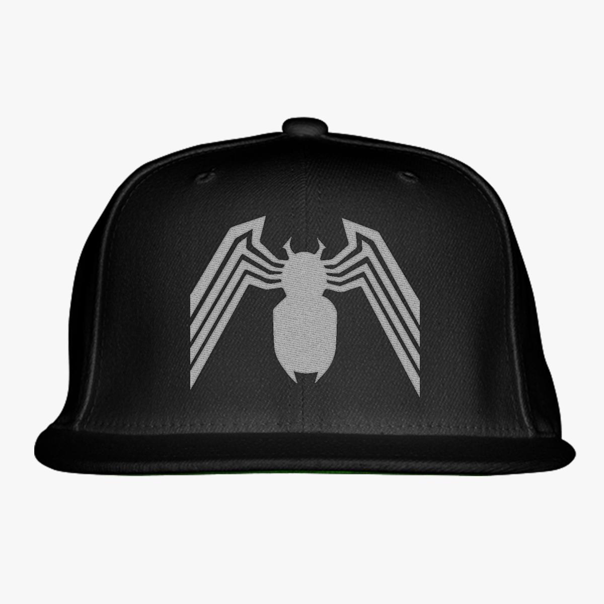 Venom Spider-Man Snapback Hat
