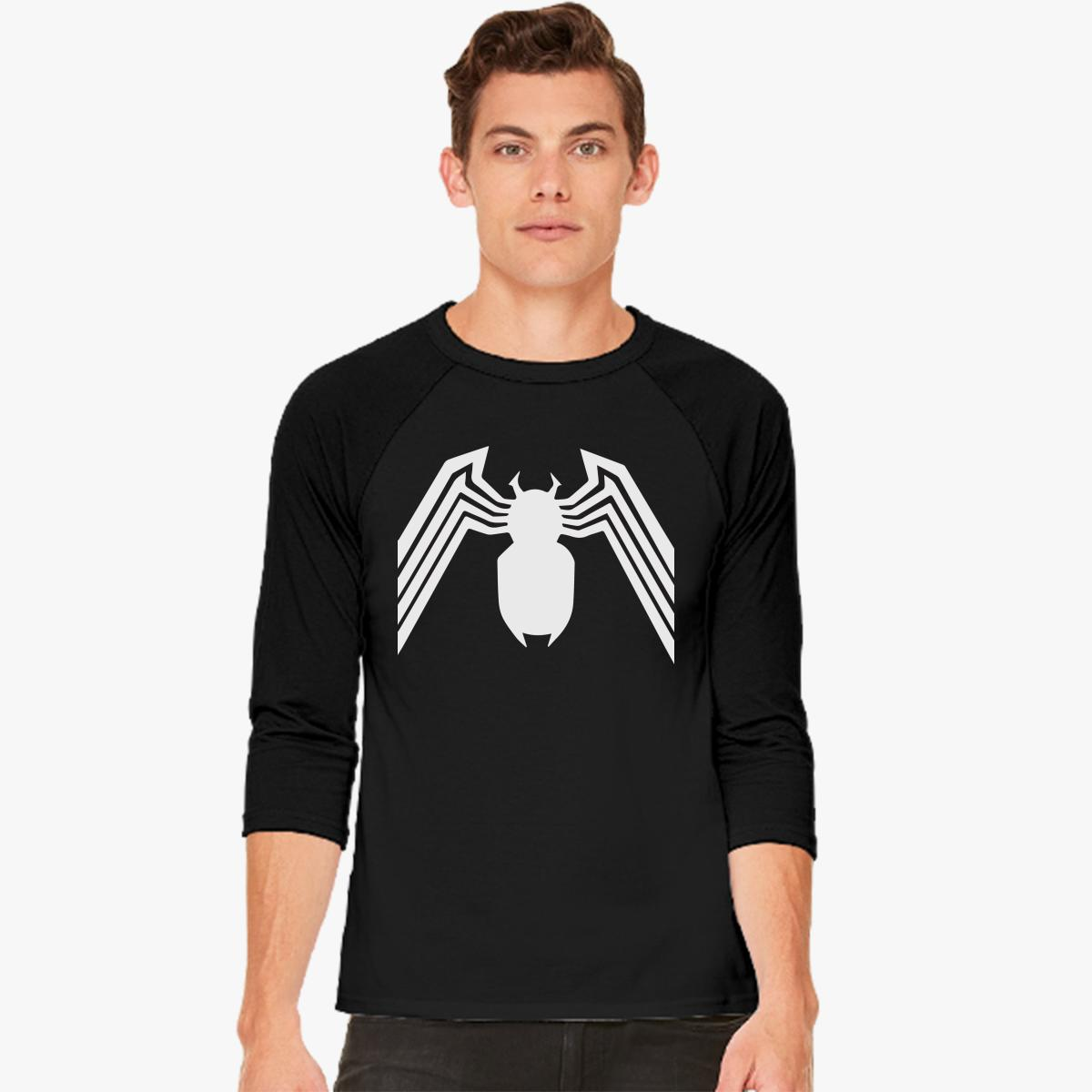 Venom Spider-Man Baseball T-shirt