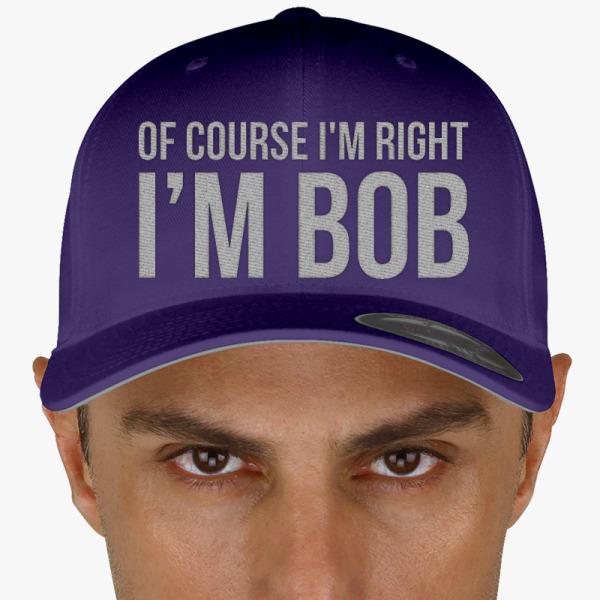 Buy course right. BOB Baseball Cap, 262130