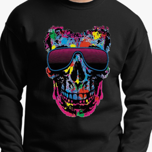 Buy Skull Crewneck Sweatshirt, 277406