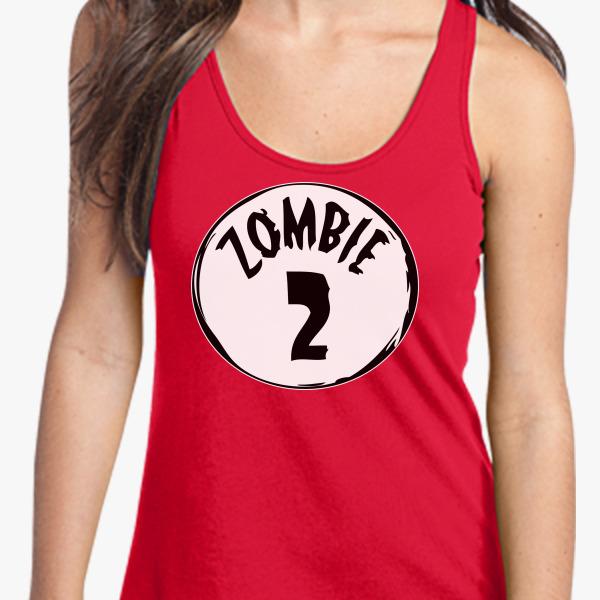 Buy Zombie 2 Women's Racerback Tank Top, 2872