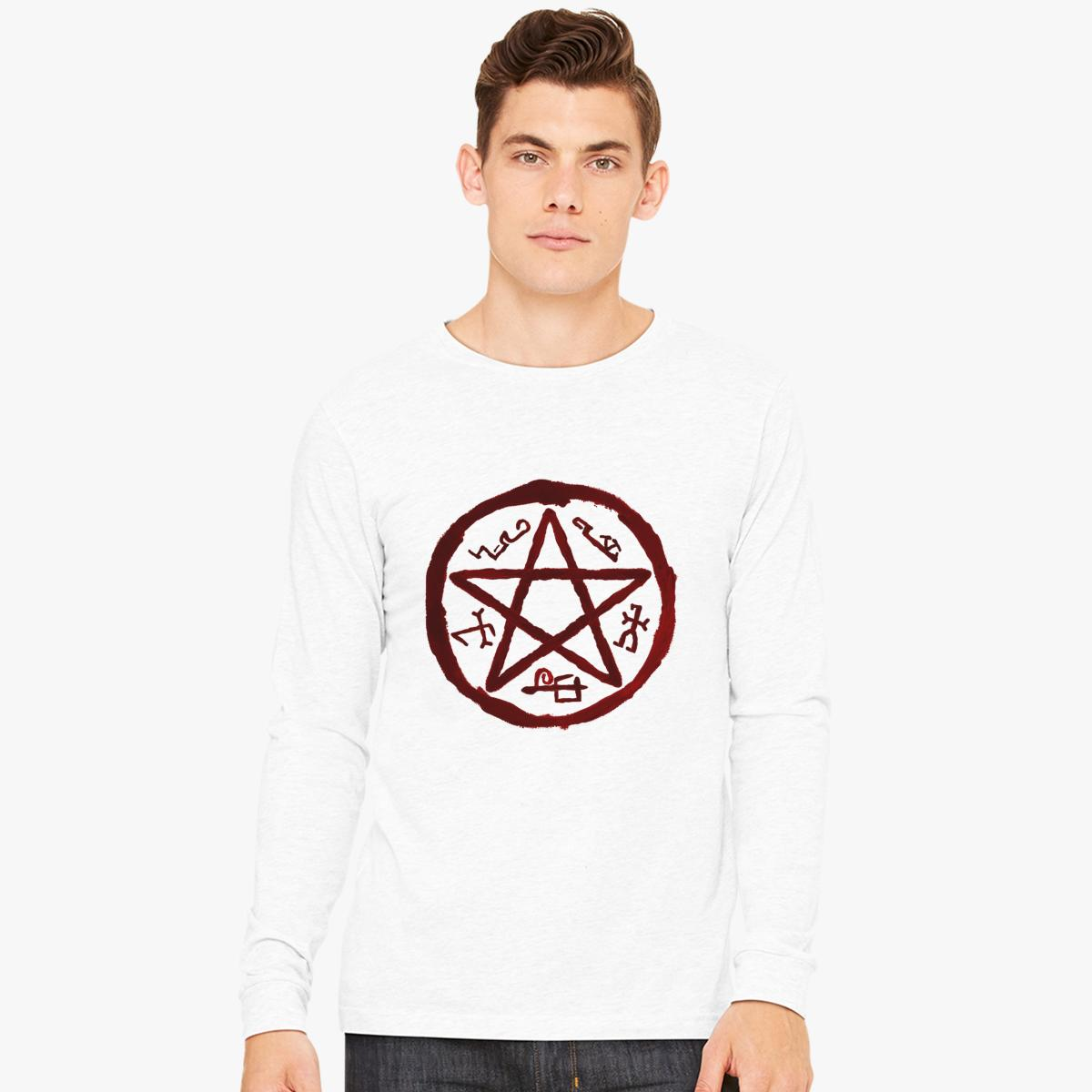 Supernatural Symbol Logo Long Sleeve T-shirt