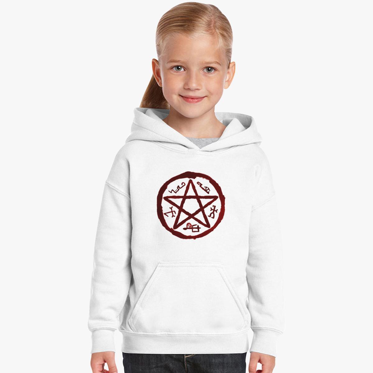 Supernatural Symbol Logo Kids Hoodie