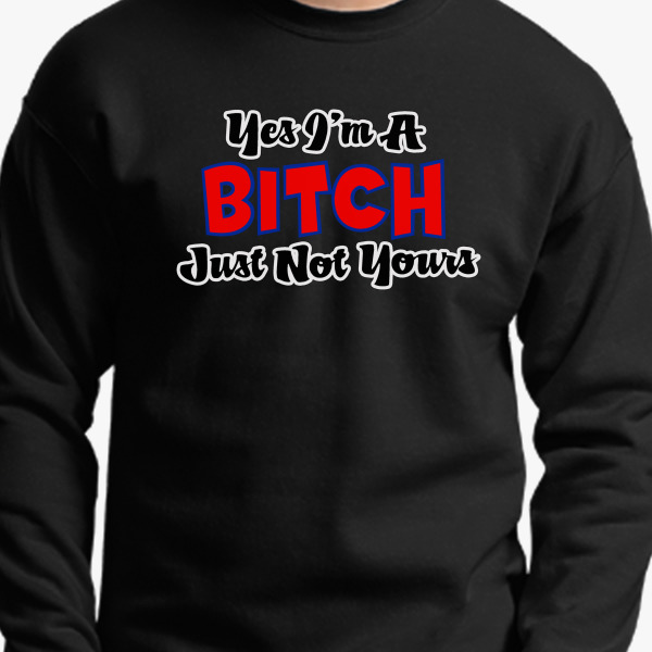 Yes Crewneck Sweatshirt, 3173