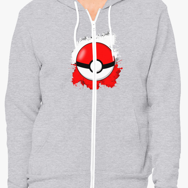 11391de432d Pokemon Zip Up - livinng