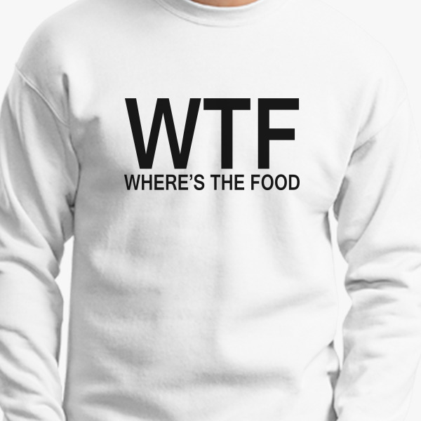 Buy WTF Crewneck Sweatshirt, 32779