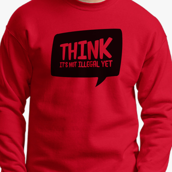Buy Think Crewneck Sweatshirt, 33399