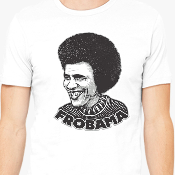Buy Frobama Men's T-shirt, 37366