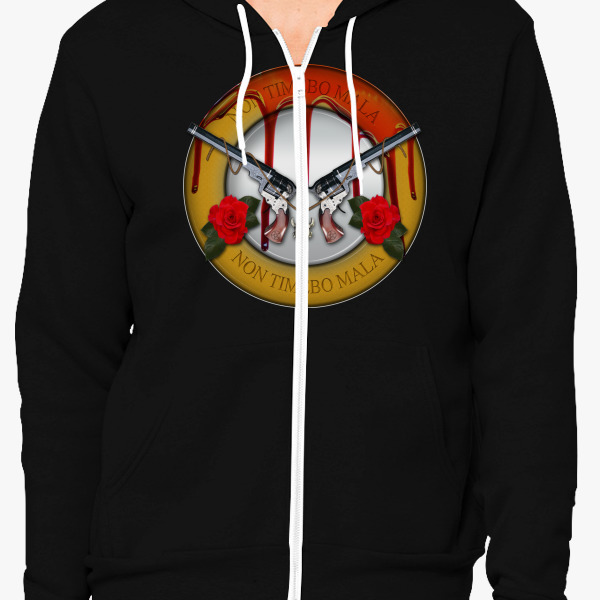 Buy NON TIMEBO MALA First Blood 2 Zip-Up Hoodie, 376679