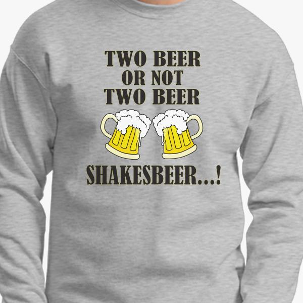 Shakesbeer Crewneck Sweatshirt, 38364