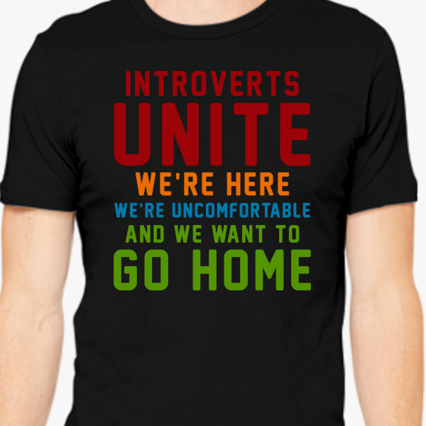 Introverts Unite Shirt T Shirt Design Collections ...
