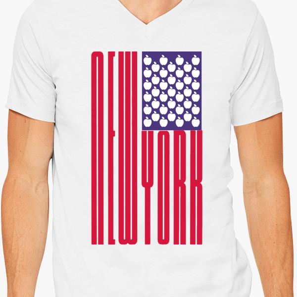 Buy YORK BIG APPLE V-Neck T-shirt, 39873