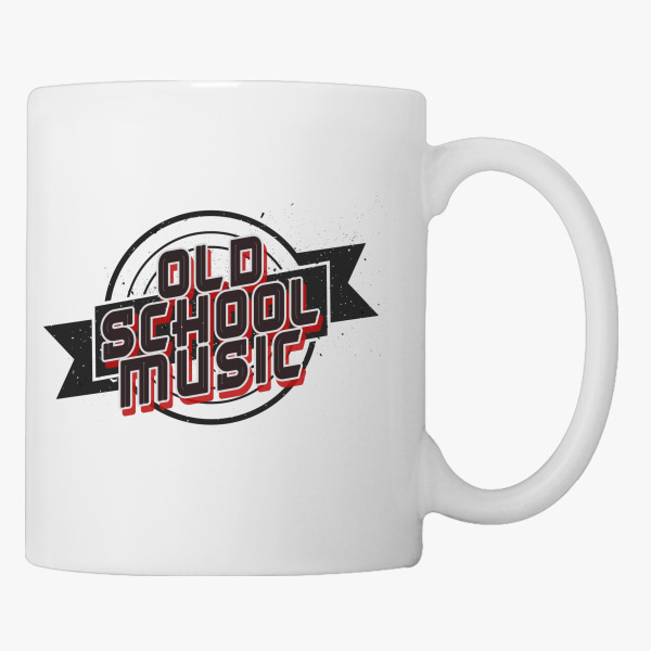 Buy OLD SCHOOL MUSIC Coffee Mug, 42224