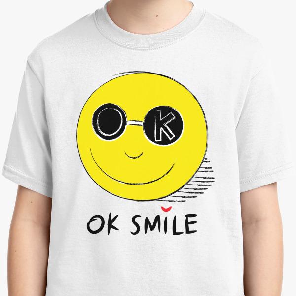 Buy OK Smile Youth T-shirt, 431735