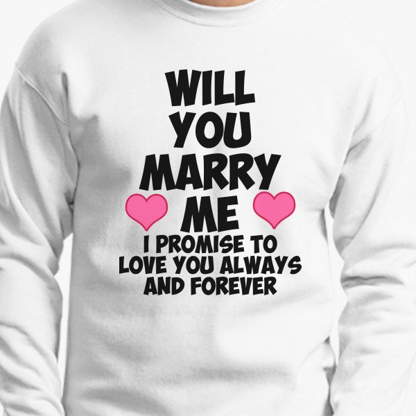 Will You Marry Me Valentines Day Engagement Shirt Marriage