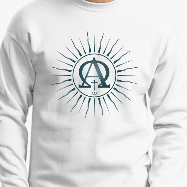 Buy Alpha Omega Crewneck Sweatshirt, 440626