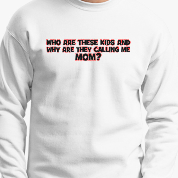 Buy kids Mom? Crewneck Sweatshirt, 4420