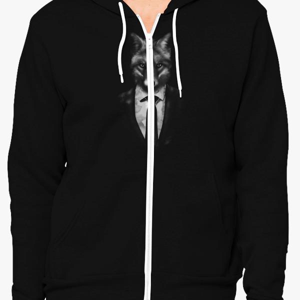 Buy Mr. Fox Unisex Zip-Up Hoodie, 449804