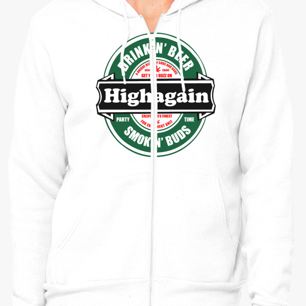 Buy Highagain Zip-Up Hoodie, 46460