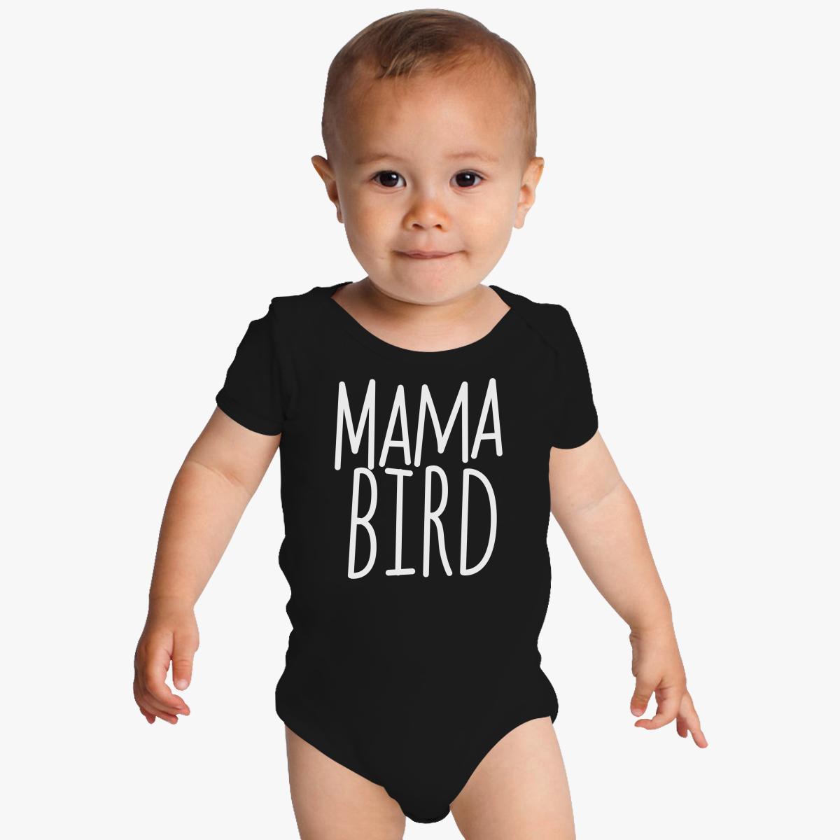 Mama bird Baby Onesies