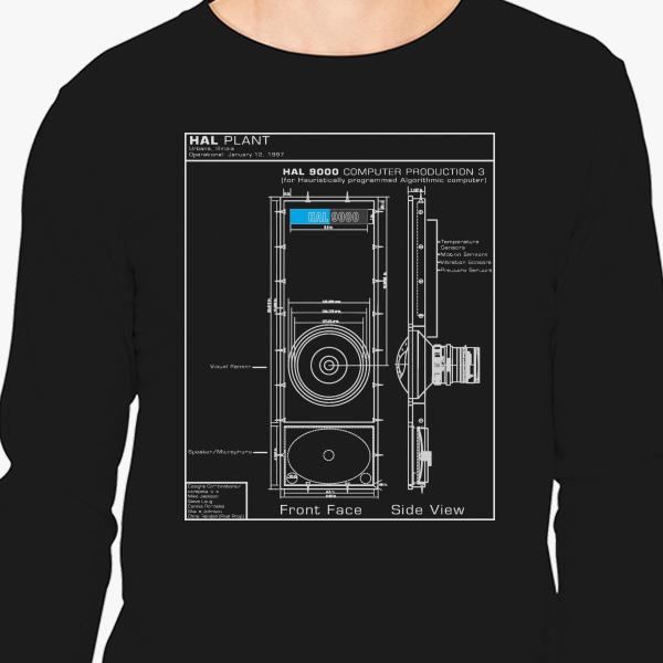 2001 a space odyssey hal 9000 blueprint long sleeve t shirt 2001 a space odyssey hal 9000 blueprint long sleeve t shirt customon malvernweather Choice Image