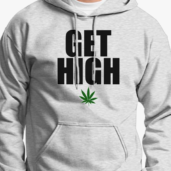 Buy Get High Hoodie, 48516