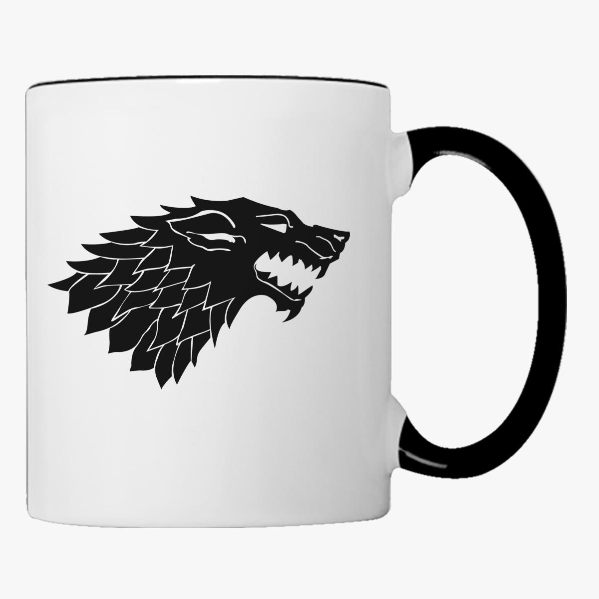 Game Of Thrones Wolf Coffee Mug