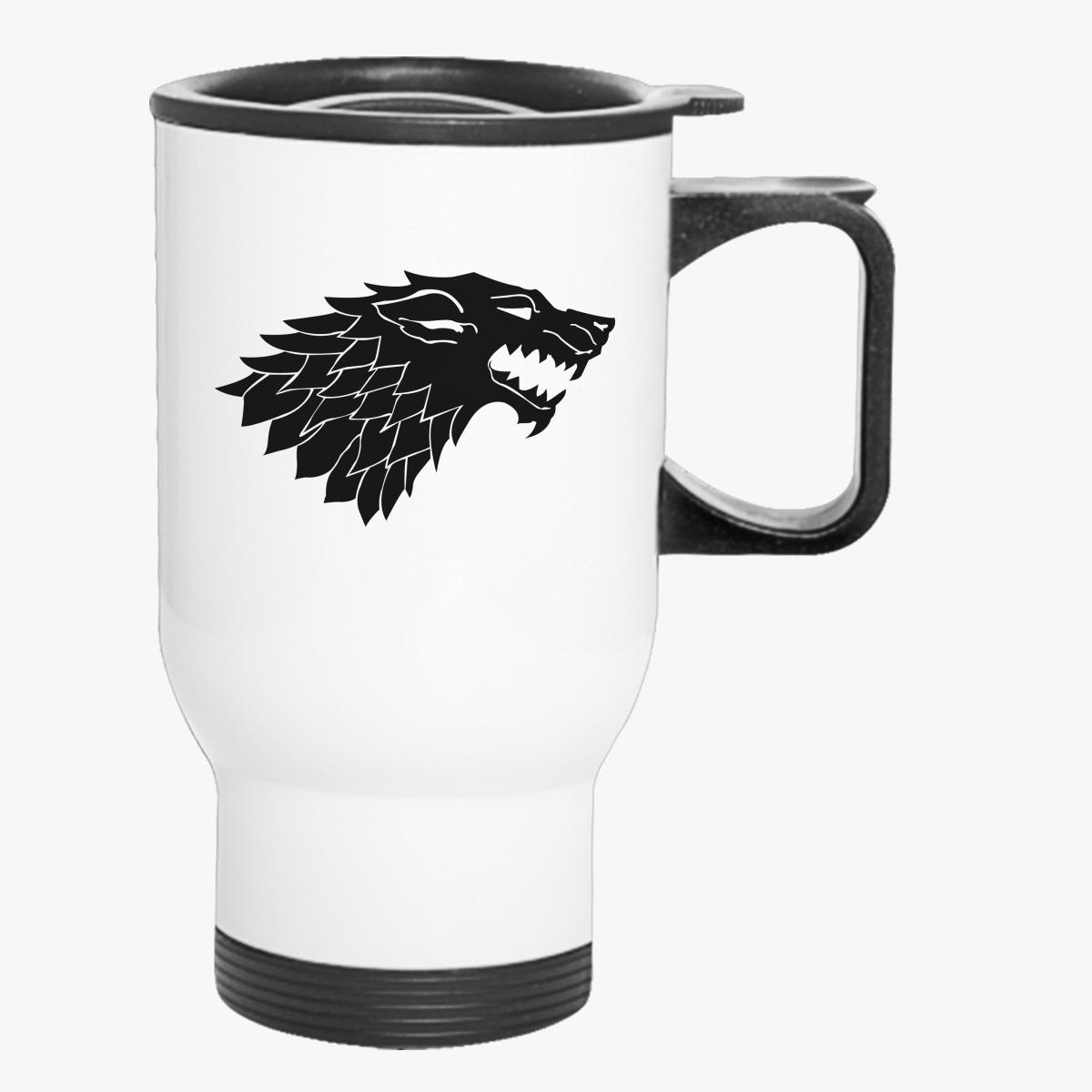 Game Of Thrones Wolf Travel Mug