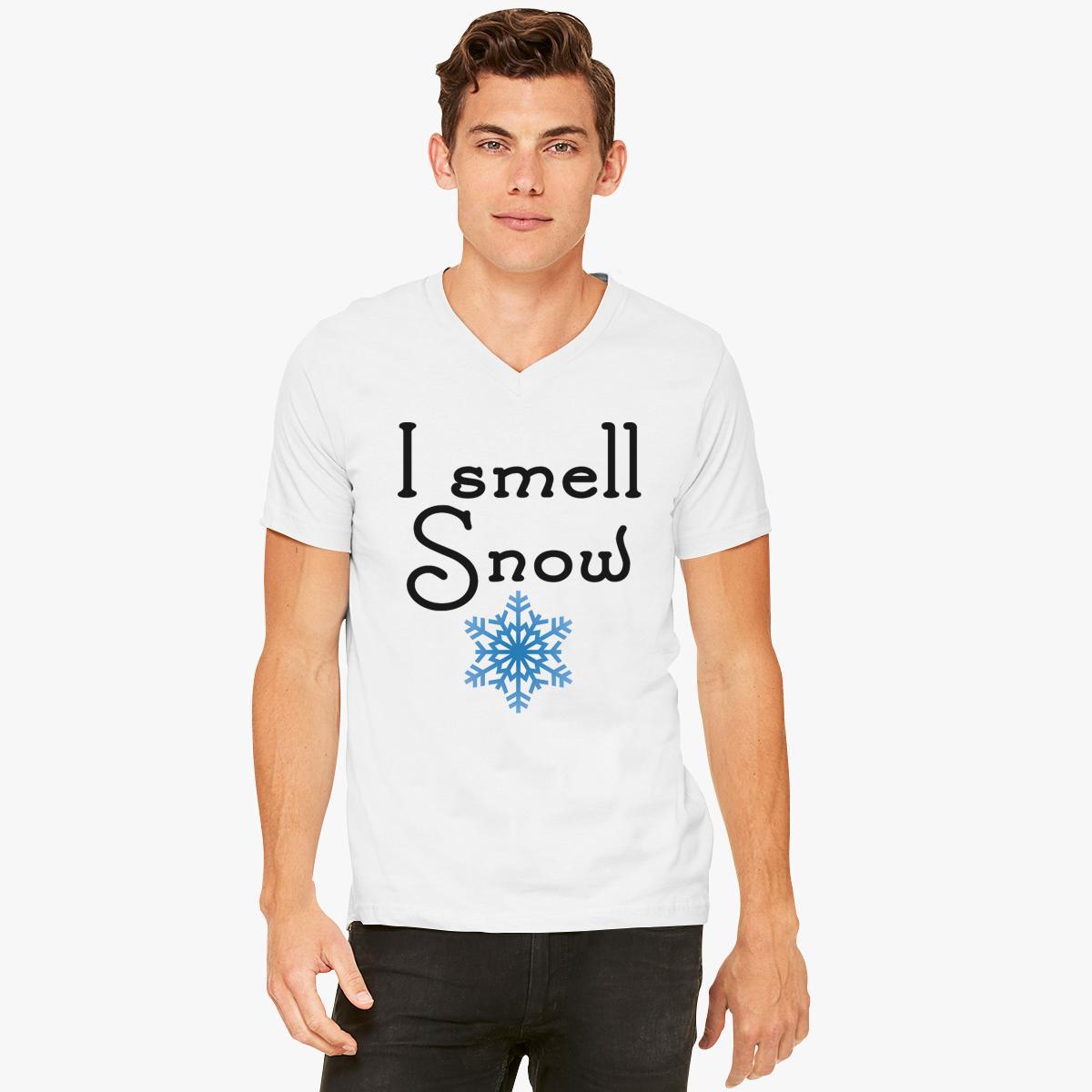 Gilmore Girls - I smell Snow  V-Neck T-shirt