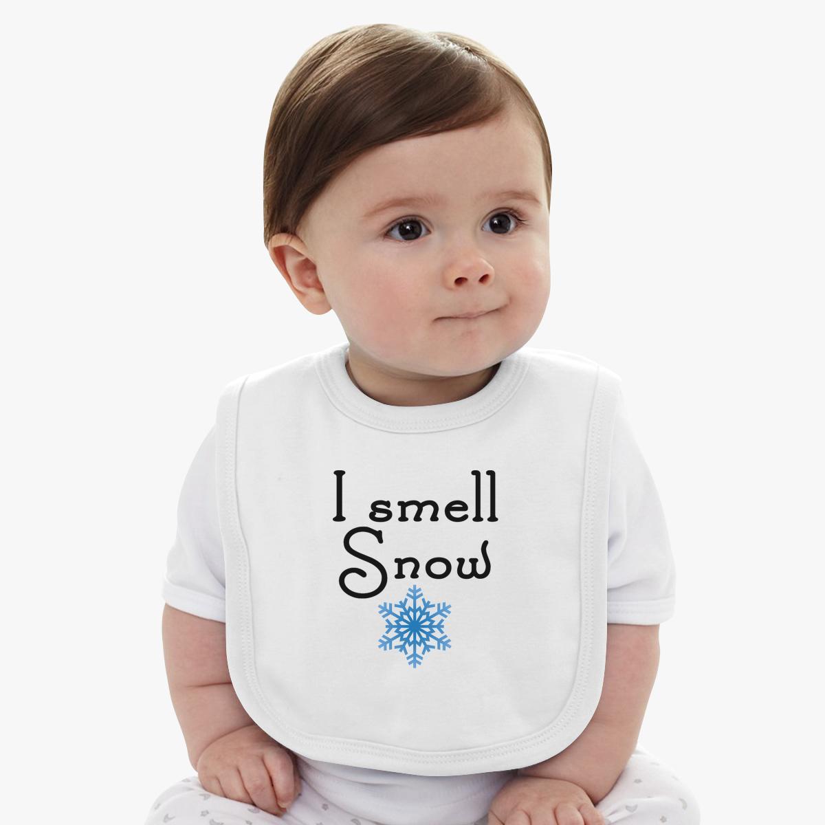 Gilmore Girls - I smell Snow  Baby Bib
