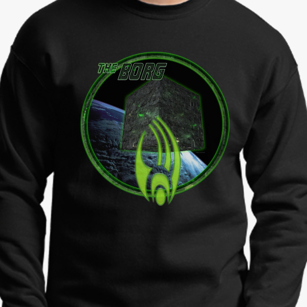 Buy Borg Crewneck Sweatshirt, 532661