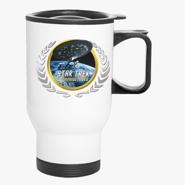 Buy Star trek Federation Planets Enterprise 1701 D 2 Travel Mug, 537268