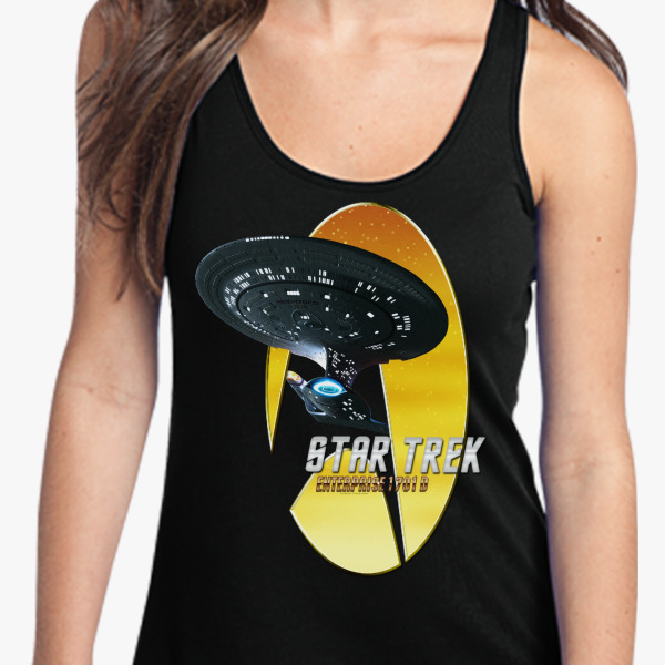 Buy Star Trek Nemesis Enterprise 1701 D Women's Racerback Tank Top, 538801