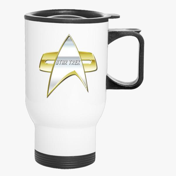 Buy StarTrek NG Com badge Travel Mug, 547993