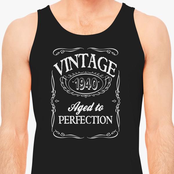 Buy VINTAGE 1940 Men's Tank Top, 61645