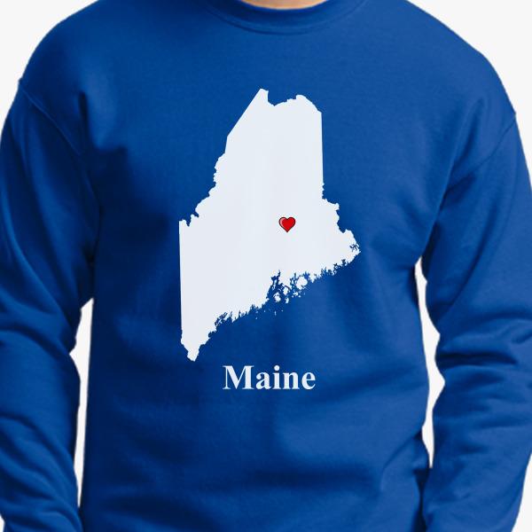 MAINE Crewneck Sweatshirt Z9bE3SH