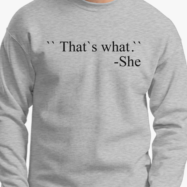 Buy Said Crewneck Sweatshirt, 8142