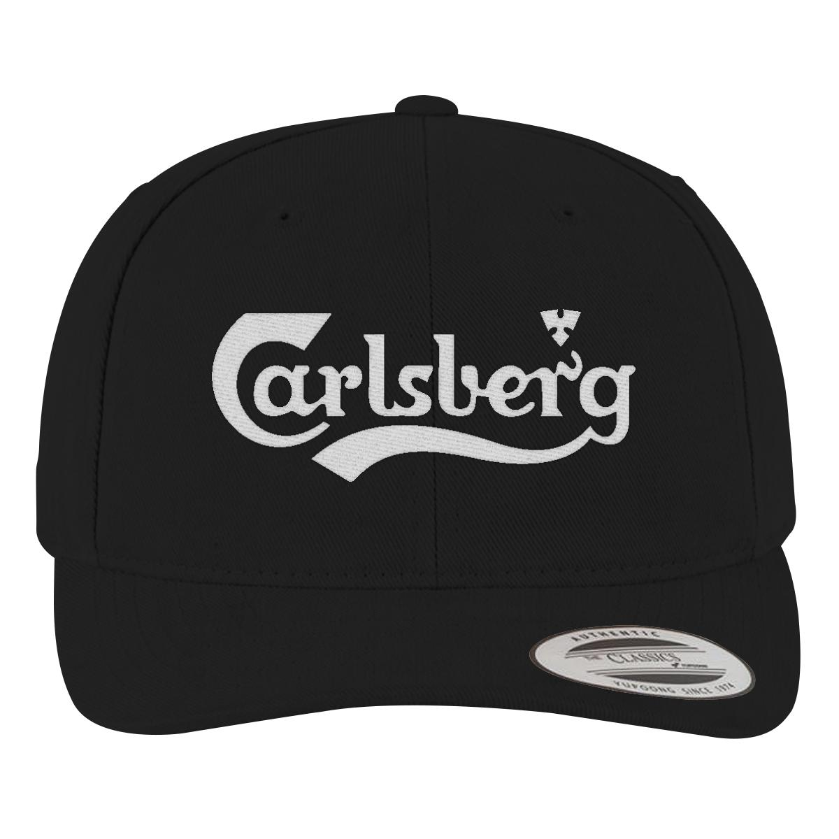 48a19f15ba9 Carlsberg Logo Brushed Cotton Twill Hat - Embroidery Change style