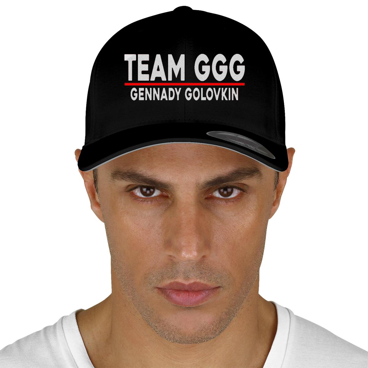 Team GGG Gennady Golovkin Baseball Cap (Embroidered)  86a09b7c8de5