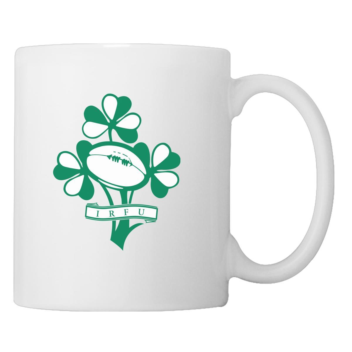 Irish Rugby Football Logo Coffee Mug Customon