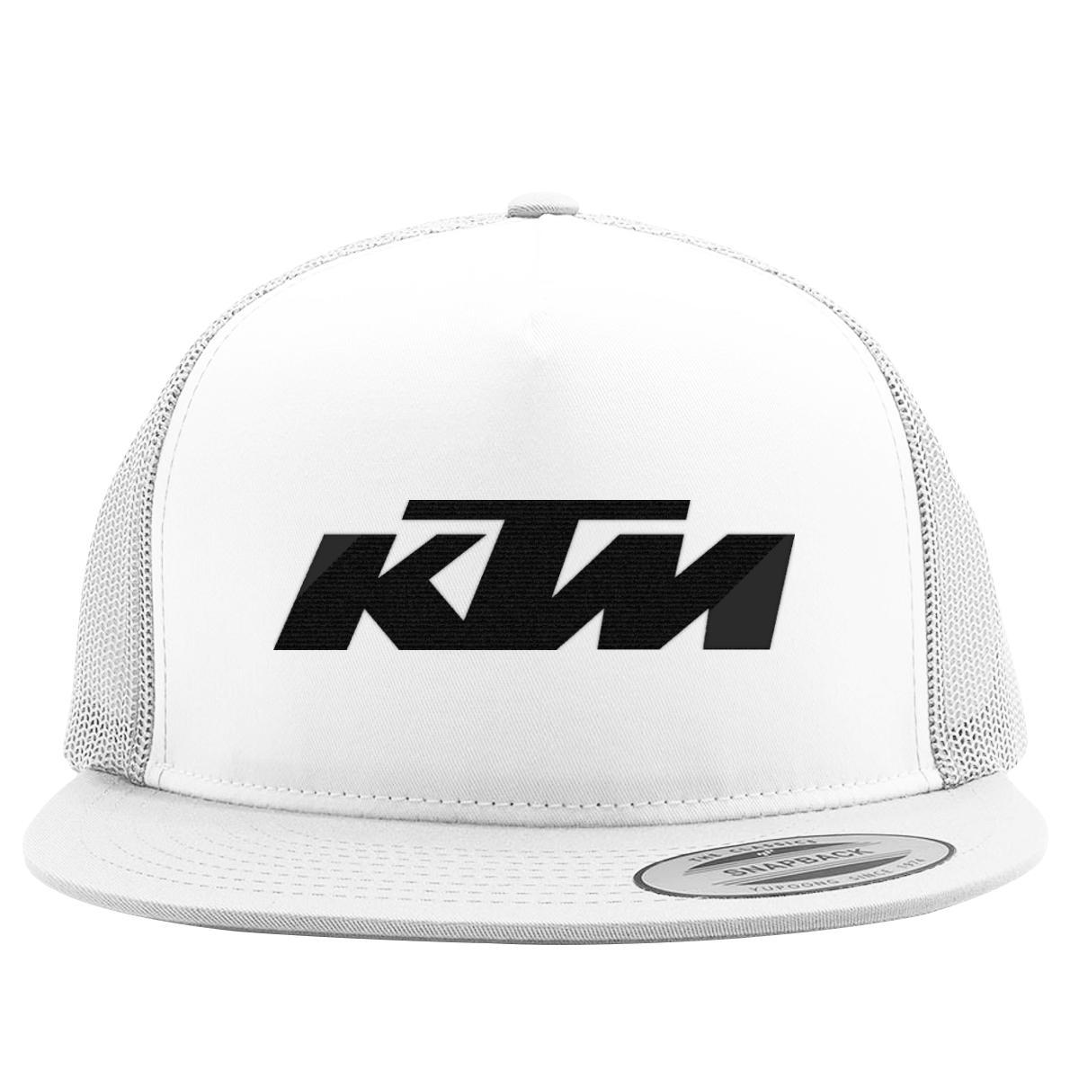 252bbede Ktm Trucker Hat (Embroidered)   Customon.com