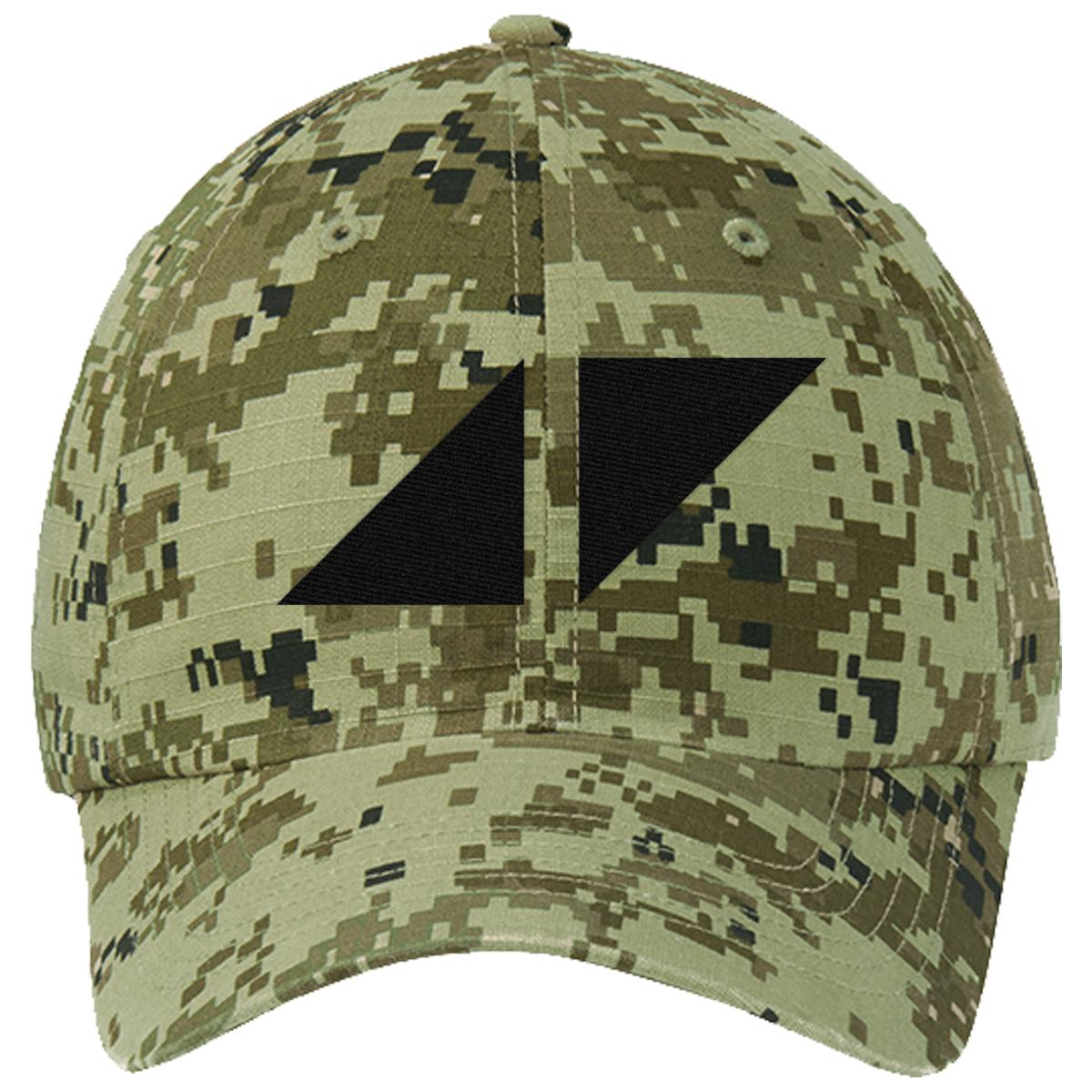 avicii Ripstop Camouflage Cotton Twill Cap (Embroidered)  9871566bfd35