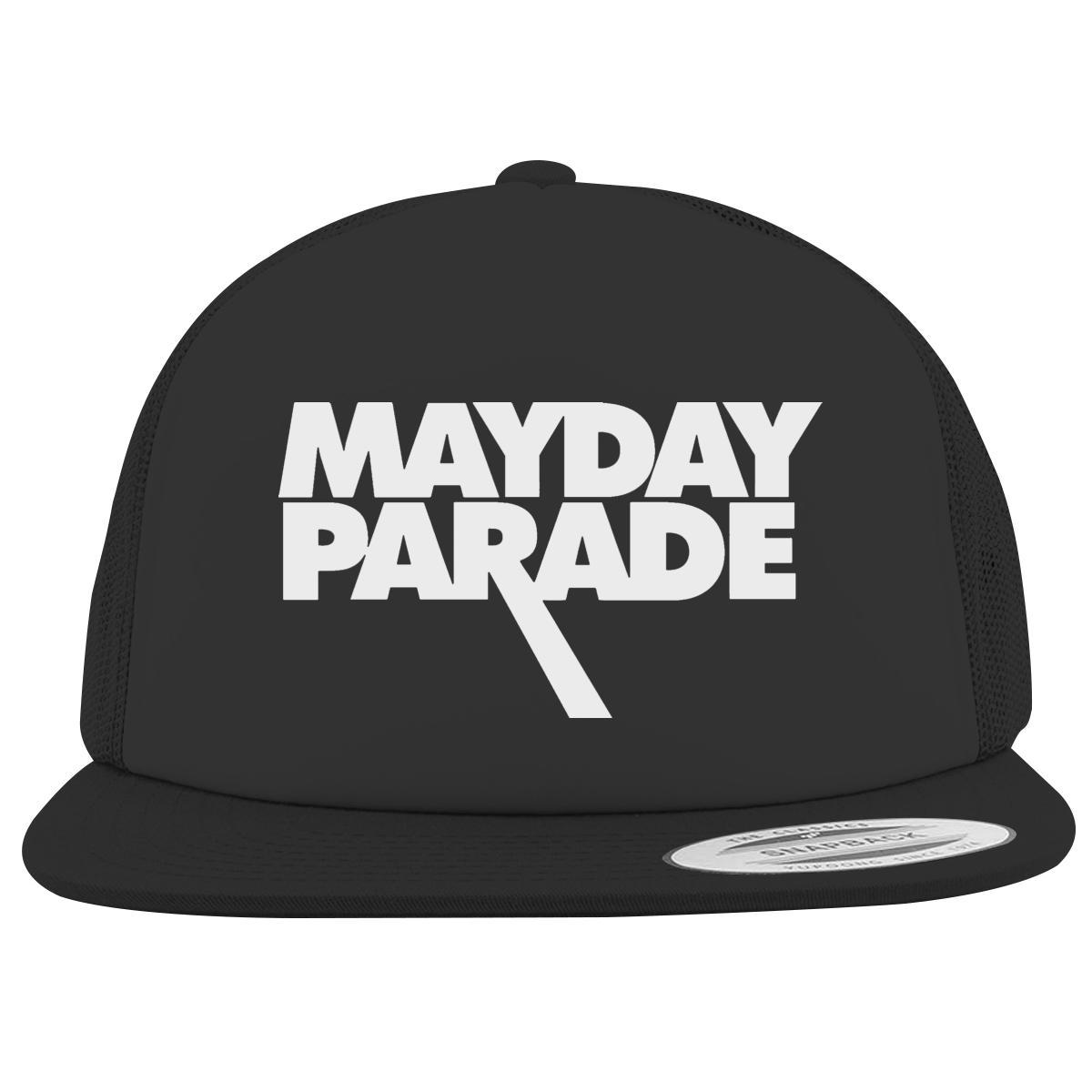 Mayday Parade Logo Foam Trucker Hat Customon