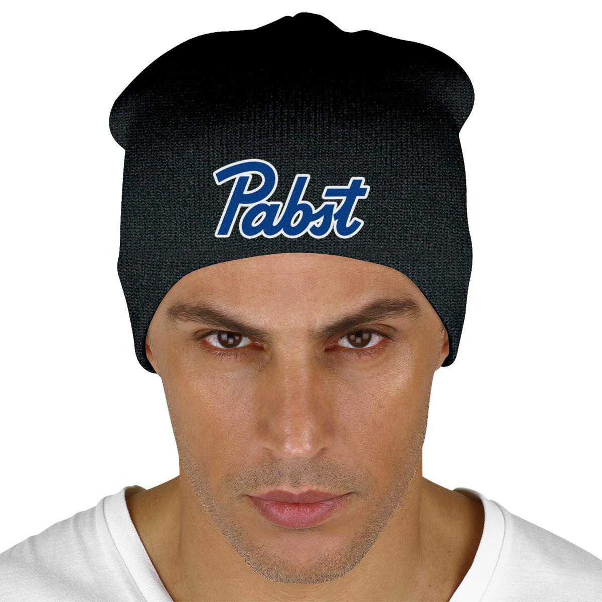 Pabst Blue Ribbon Knit Beanie  1aef803da55